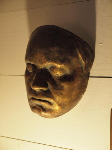Brass Mask Wall Ornament