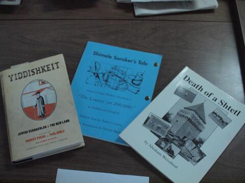 Books About Yiddish 2