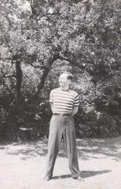 Joe as a young man