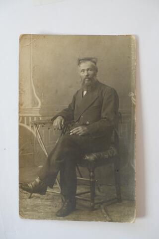 grandfather seated portrait 2