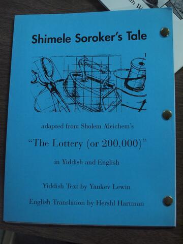 Shimele Soroker's Tale
