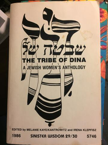 The Tribe of Dina Anthology Original Publication as Issue of Sinister Wisdom 1986