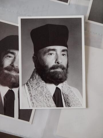 Portrait of Moshe Kraus in Cantorial Garb