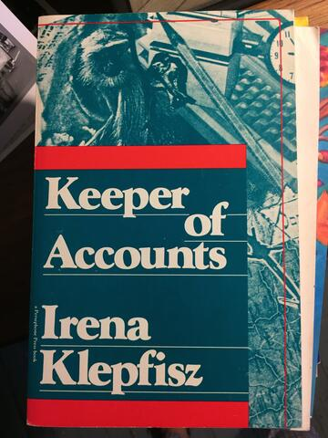 Keeper of Accounts by Irena Klepfisz Cover