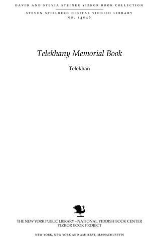 Thumbnail image for Ṭelekhan