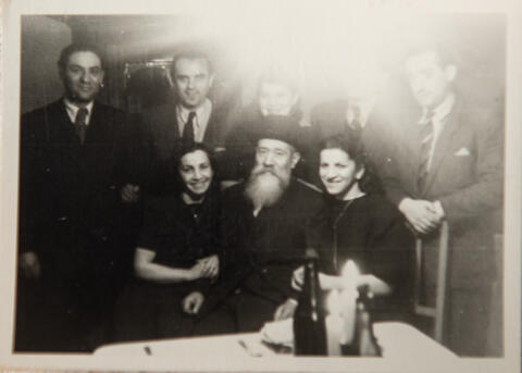 First Pesach in Cham, 1947