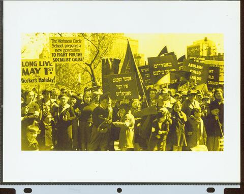 labor demonstration photograph