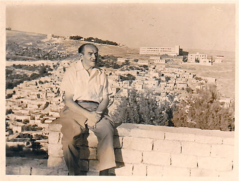 opatoshu visits israel