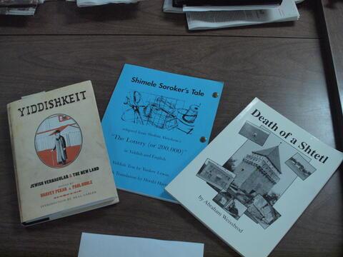 Books About Yiddish 1