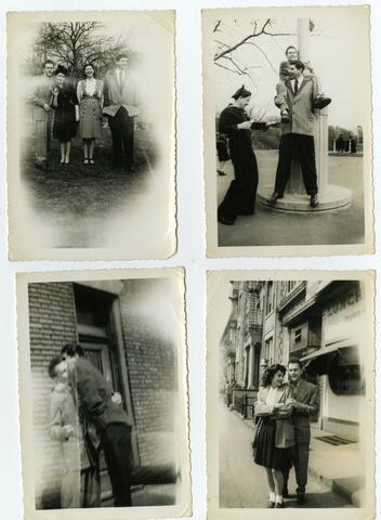 Four teenage photos