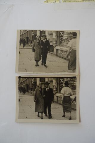 Kadya Molodowsky and husband Simkhe Lev in Paris