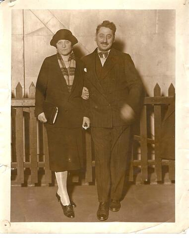 Shoelm Asch with His Wife