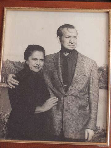 Couple portrait, Meyer Krawetz and wife, Cara De Silva's parents