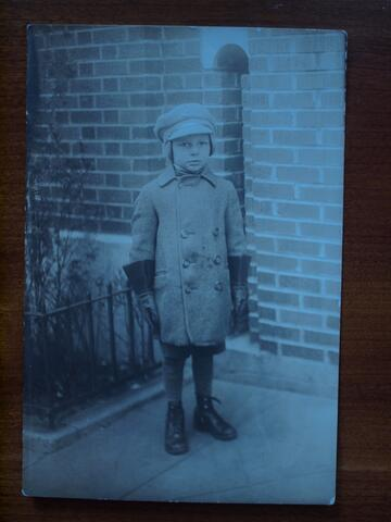 Mitchell Waife Photo- Picture as a Child During Winter