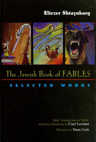 The Jewish Book of Fables cover