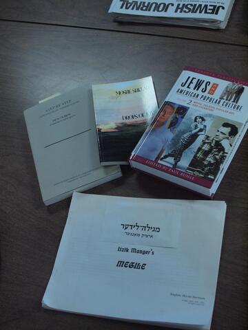 Yiddish Poetry Books