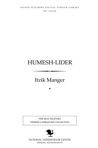 Thumbnail image for Ḥumesh-lider