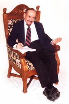 Joe seated portrait 2