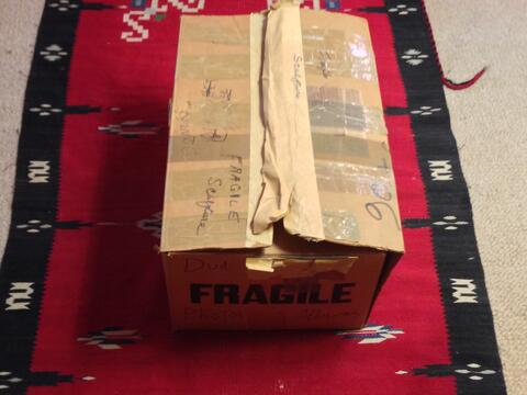 Dan's box of Opatoshu photos - closed