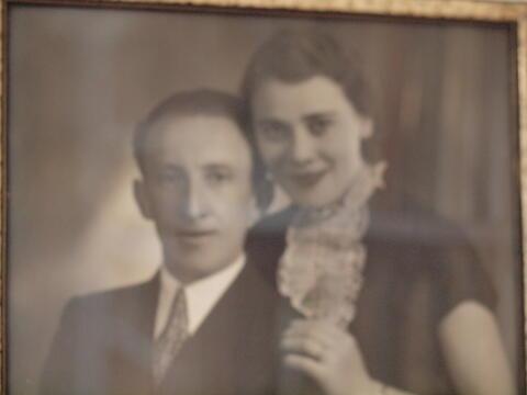 Chava and Husband Portrait