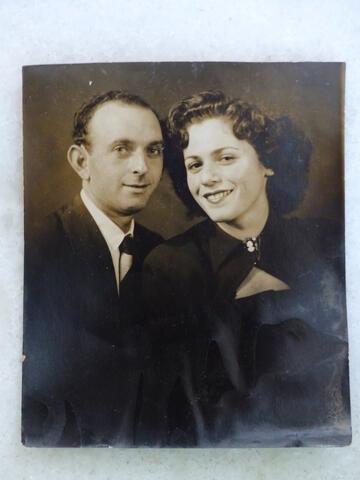 Szyja and Tauba portrait