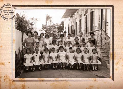 Scholem Aleichem Class Photo Rio de Janeiro