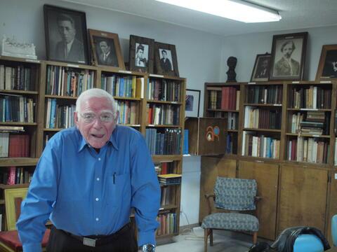Portrait of Hershl Hartman 6