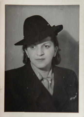 Aunt Paula in a Hat