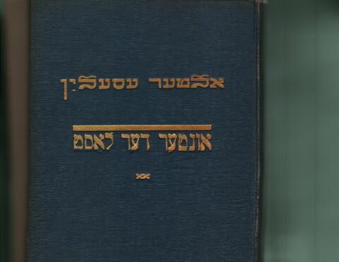 Unter der Last book cover 2