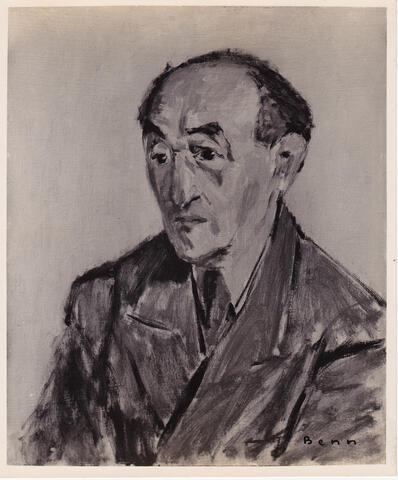 benn painting of Yosef