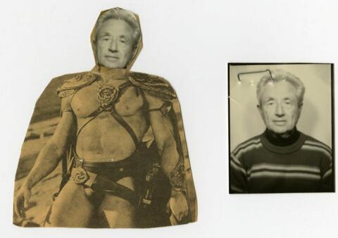 Superhero and Older Photo