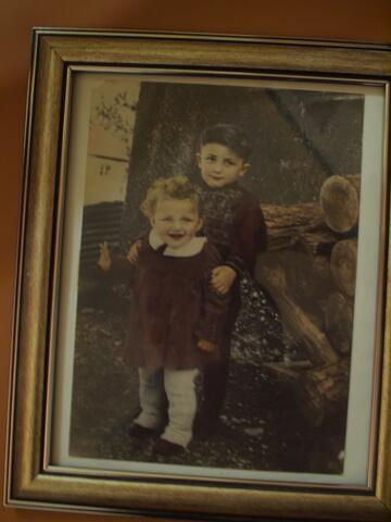 Riva Ginsburg Photo- Riva and Brother as Children