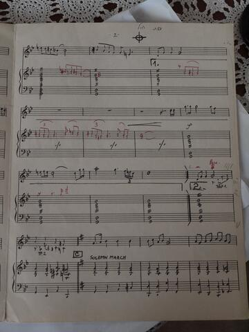 Eyshet Chayil Sheet Music from Repertory Cantor Moshe Kraus Page 2