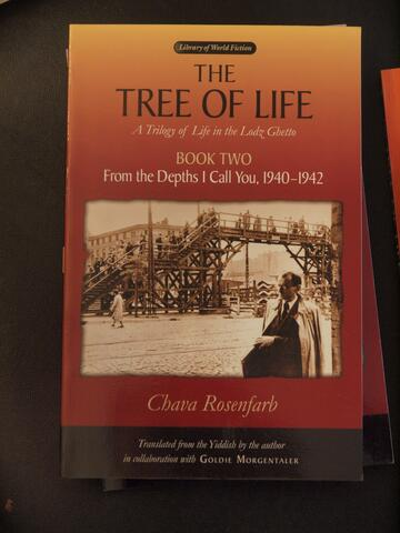 The Tree of Life Book One: On the Brink of the Precipice, 1939 by Chava Rosenfarb