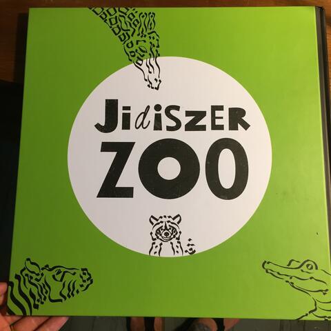 idiszer Zoo, Artist Eva Gordon, Tri-lingual Children's Book