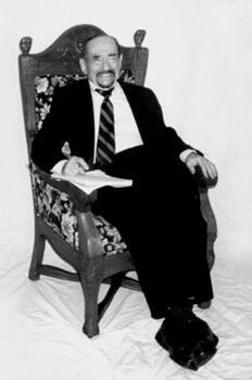 Joe seated portrait