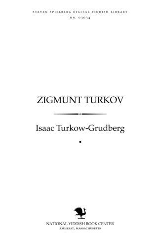 Thumbnail image for Zigmunṭ Ṭurḳoṿ