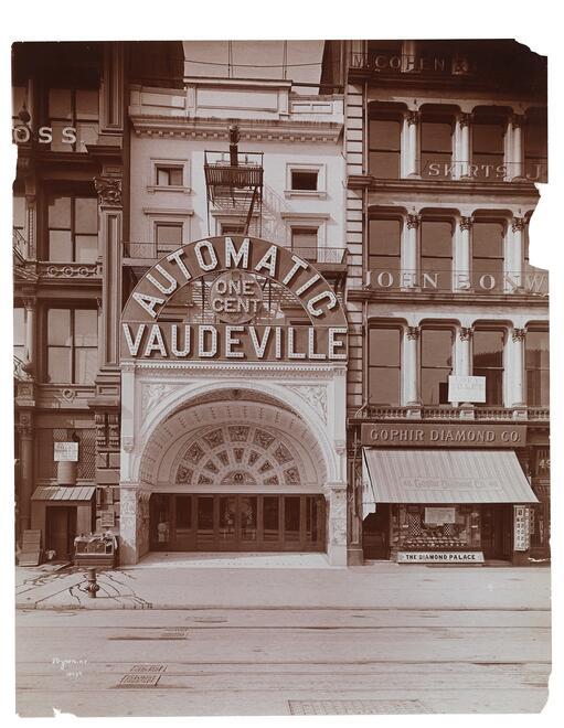 Automatic Vaudeville theatre, 48 East 14th Street, N.Y.C.