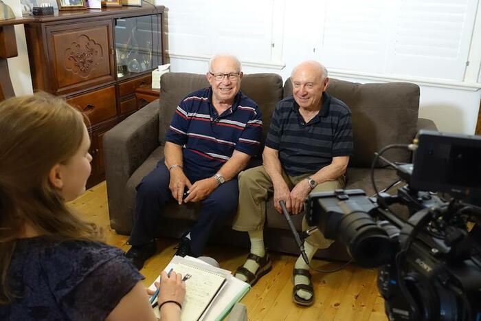 David and Ben Burstin interview