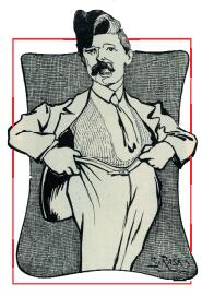 Drawing of Jacob Marinoff