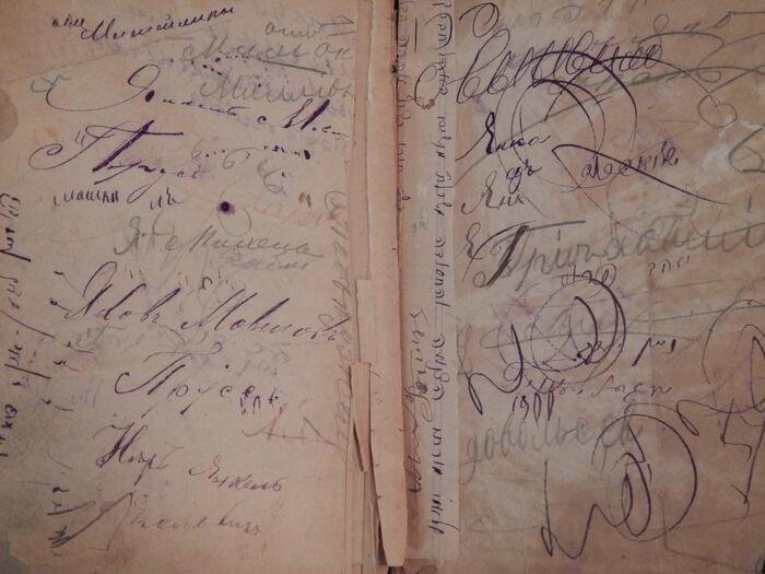 Multilingual handwriting
