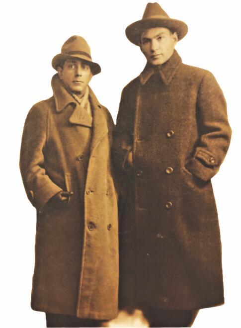 Zuni Maud and Yosl Cutler