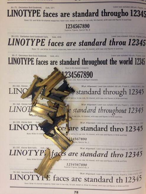 linotype fonts
