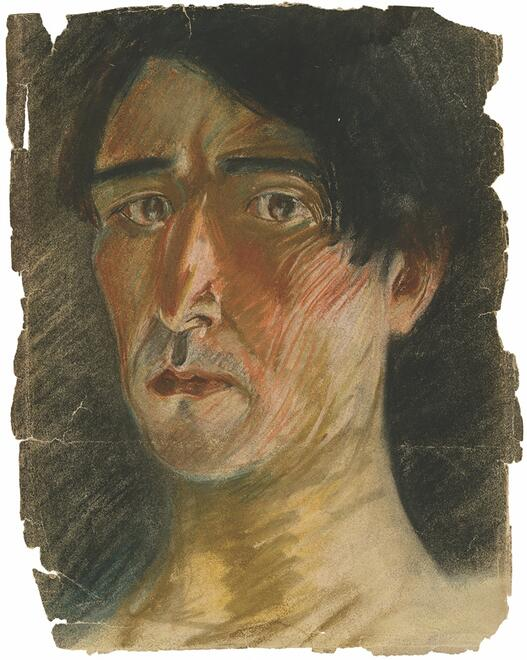 Zuni Maud self-portrait