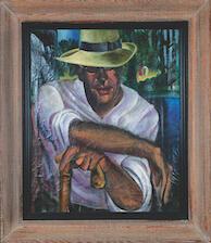 Yosl Cutler's protrait of Leon Kobrin