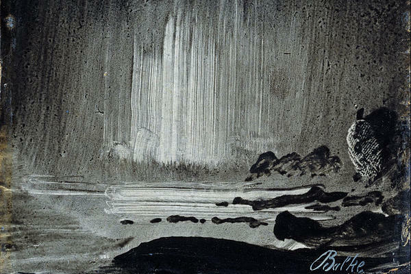Peder Balke, <em>Northern Lights over Coastal Landscape</em>