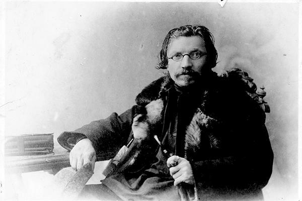 Photograph of Sholem Aleichem